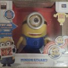 Despicable Me 2 Minion Stuart TALKING Laughing Action Figure BRAND NEW! RARE!
