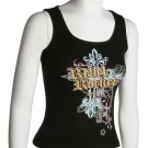 Black Rebel Rocker Tank Top Large