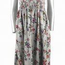 Ladies Floral Print Dress M-L-XL-XXL