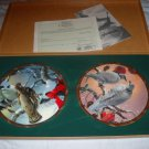 Mario Fernandez Twelve Days of Christmas plates- MINT