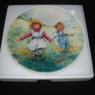 "WEDGWOOD/ VICKERS collector plate ""PLAYTIME"""