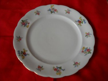 "Forest Bavaria  ""REMEMBRANCE""  bread  plate-(4 AVAILABLE) GERMANY"