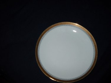 Jahre  BAREUTHER Waldsassen bread plates -GOLD TRIM ( 6 available)
