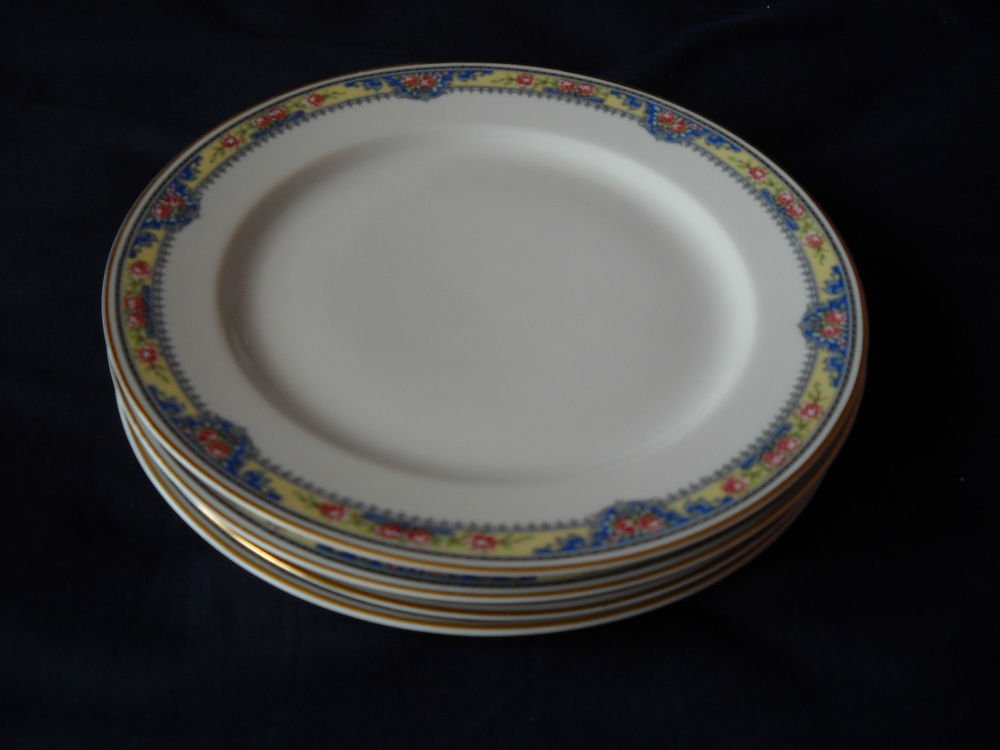 Limoges FRANCE/Stern Bros.DINNER PLATE -1800's( 6 AVAILABLE)