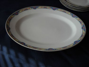 Limoges FRANCE/Stern Bros.Serving Platter -1800's