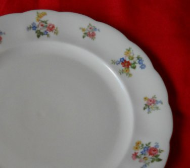 "Forest Bavaria  ""REMEMBRANCE""  bread  plate- GERMANY"