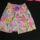 Barbie Clothes Skirt Pink and Daisies (barbie fashions, doll clothes, outfits)
