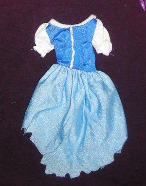 Barbie Clothes Disney Princess Cinderella Dress (barbie fashions, doll clothes, outfits)