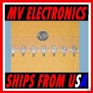 Ring terminals solderless size 22-16 Stud size 4 50 Pcs