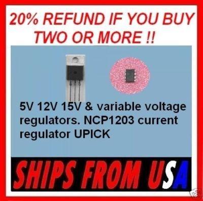 LM317 LM337 NCP1203 current voltage regulator 5V 12V 15