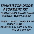 Transistors Zener Diodes Rectifiers Assortment KITS 240X