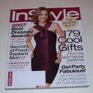 INSTYLE / IN STYLE MAGAZINE  DECEMBER  2007 Natalie Portman