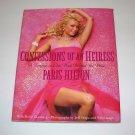 CONFESSIONS OF AN HEIRESS Paris Hilton 2006 HC DJ 1st/1st