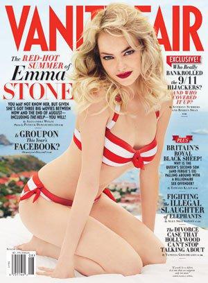 VANITY FAIR MAGAZINE Emma Stone August Aug 2011