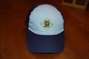 Free Shipping Bear Scout Hat Cub Scout size S/M