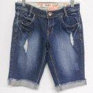 Detroyed Blue Denim Shorts by Bongo ~ Sz 3