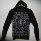 Black Hoodie w/Sequins on Front by Rue 21 Sz Sm