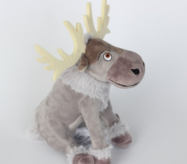 "8"" Frozen Sven Reindeer Stuffed Plush Toy Dolls Kids Girls New Gift"