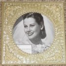 Pearl Wedding or Anniversary Picture Frame Set