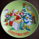 "8 3/4""  Disney Christmas 1984 Plate"