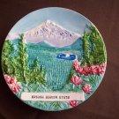 "5 1/2""   Oregon Beaver State Plate"
