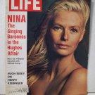 Life Magazine   Nina Singing Baroness in Hughes Affair    February 11, 1972