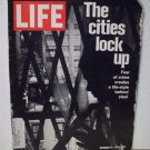Life Magazine  The Cities Lock Up  November 19, 1971