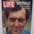Life Magazine  Muskie The Democrats'  Front Runner  November 5, 1971