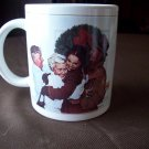 Norman Rockwell Home for Christmas Cup