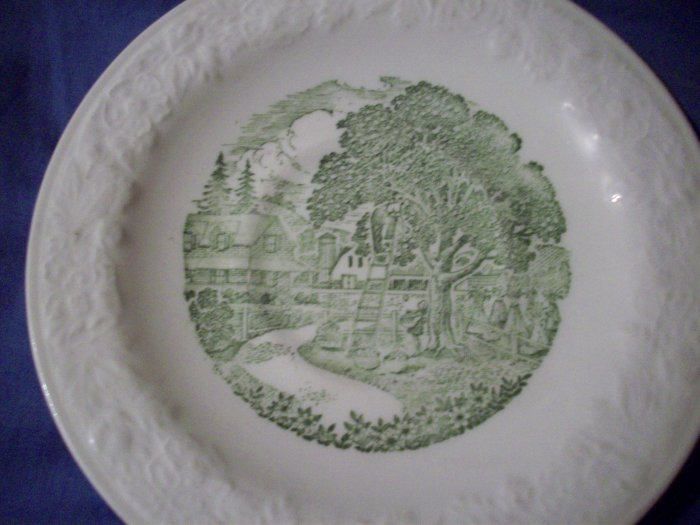 """6""""  Taylor & Smith Pastoral Plate"""