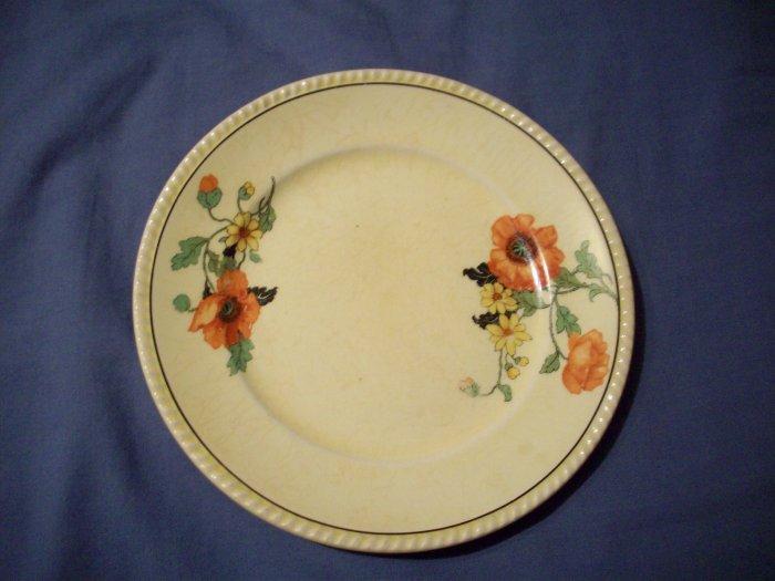 """6 1/4""""  Vintage Golden Maire Plate"""