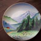 "7 1/4""  Vintage Hand Painted Japan Plate"