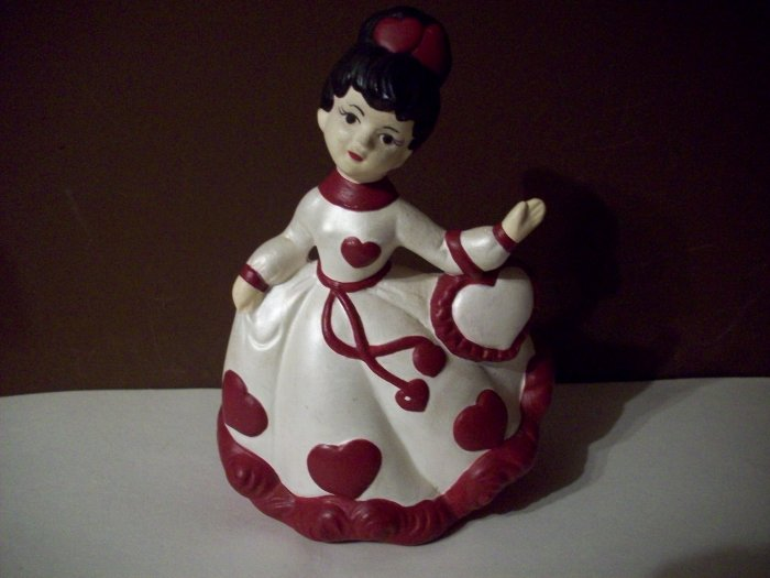 Vintage Ceramic Lady Planter