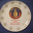 "9"" Royal Order of Jesters Plate"