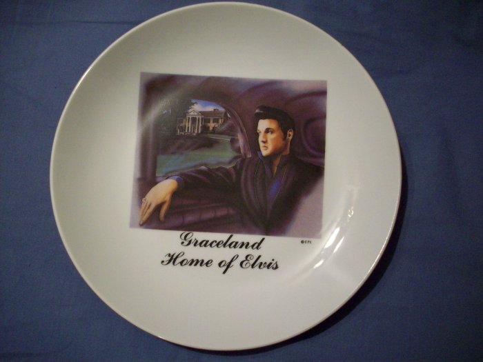 "8 1/2""  Graceland Home of Elvis Plate"