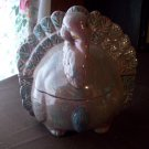 Ceramic Turkey Lidded Candy Dish