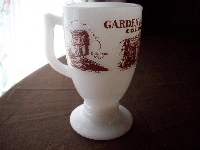 Vintage Milk Glass Colorado Cup