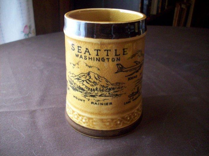 Vintage Seattle Washington Cup