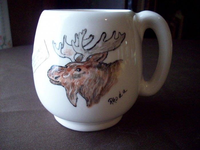 Alaskan Ceramic Art Cup