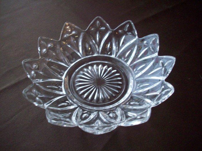 Clear Glass Star Bowl