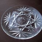 Vintage Clear Glass Saucer