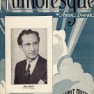 Vintage Sheet Music   Humoresque