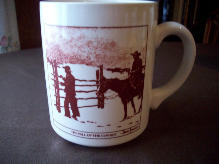 Fall of the Cowboy  Fredric Remington Cup