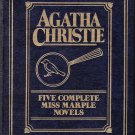 Five Complete Miss Marple Novels by Agatha Christie