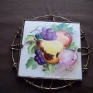 Vintage Wire Framed Tile Trivet