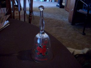 Viking Glass Crystal 40th Anniversary Bell