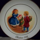 1984 Avon Christmas Plate Fourth Edition