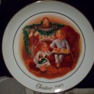 1983 Avon Christmas Plate Third Edition