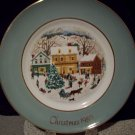1980 Avon Christmas Plate Eighth Edition