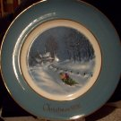 1976 Avon Christmas Plate Third Edition